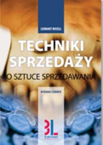 Okładka książki Techniki sprzedaży. O sztuce sprzedawania