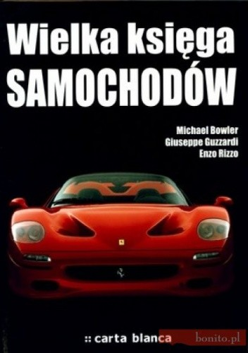 Okładka książki Wielka Księga Samochodów