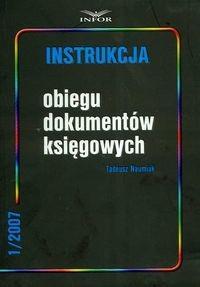 Okładka książki Instrukcja obiegu dokumentów księgowych 1/2007