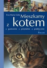 Okładka książki Mieszkamy z kotem