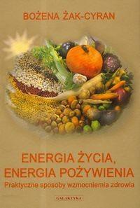 Okładka książki Energia życia energia pożywienia