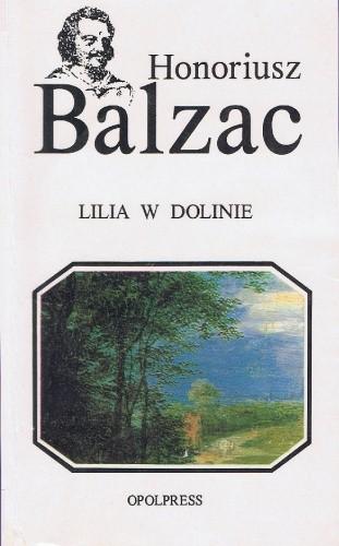 Okładka książki Lilia w dolinie