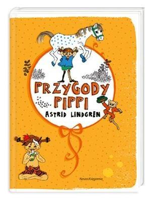 Okładka książki Przygody Pippi
