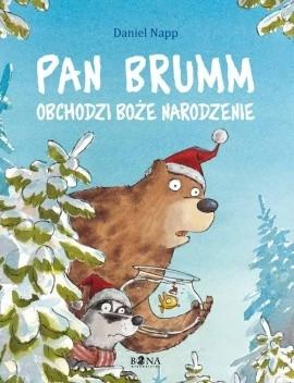 Okładka książki Pan Brumm obchodzi Boże Narodzenie