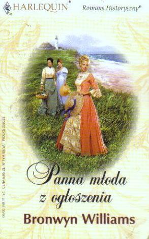 Okładka książki Panna młoda z ogłoszenia
