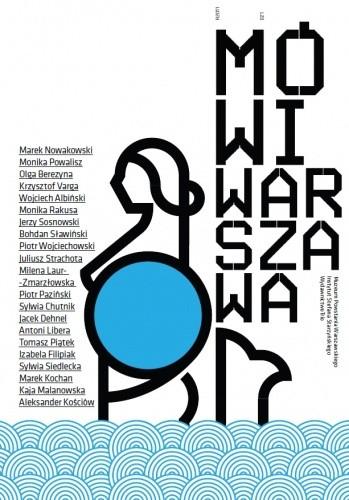 Okładka książki Mówi Warszawa