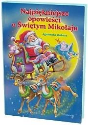 Okładka książki Najpiękniejsze opowieści o Świętym Mikołaju