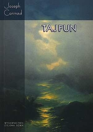 Okładka książki Tajfun