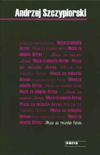 Okładka książki Msza za miasto Arras