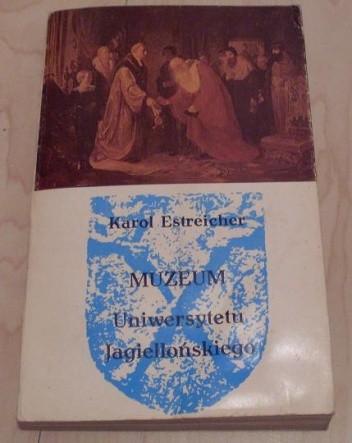 Okładka książki Muzeum Uniwersytetu Jagiellońskiego