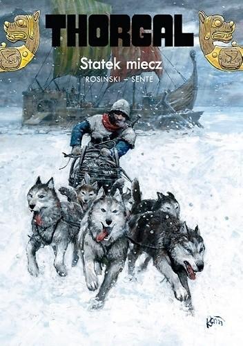 Okładka książki Thorgal: Statek miecz
