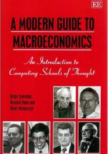 Okładka książki Współczesne nurty teorii makroekonomii