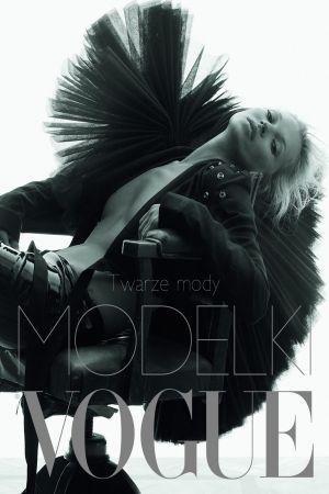 Okładka książki Modelki Vogue. Twarze mody