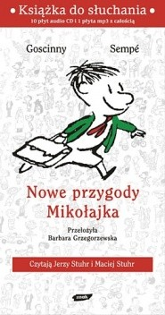 Okładka książki Nowe przygody Mikołajka. Książka do słuchania