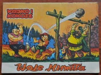 Okładka książki Kajko i Kokosz. Woje Mirmiła