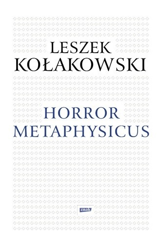 Okładka książki Horror metaphysicus