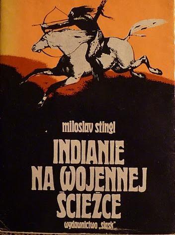 Okładka książki Indianie na wojennej ścieżce