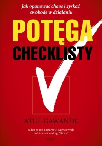 Okładka książki Potęga checklisty