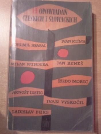 Okładka książki Czternaście opowiadań czeskich i słowackich