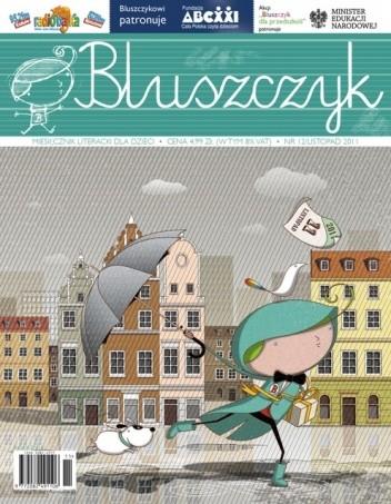 Okładka książki Bluszczyk. Miesięcznik literacki dla dzieci - nr 12/listopad 2011