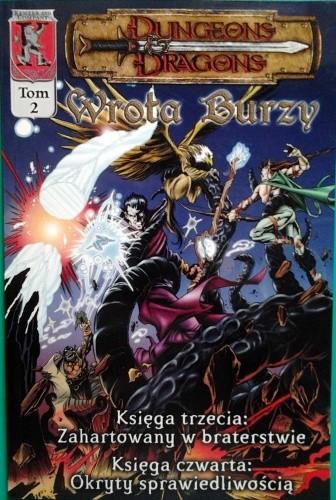 Okładka książki Dungeons & Dragons. Wrota Burzy 2.