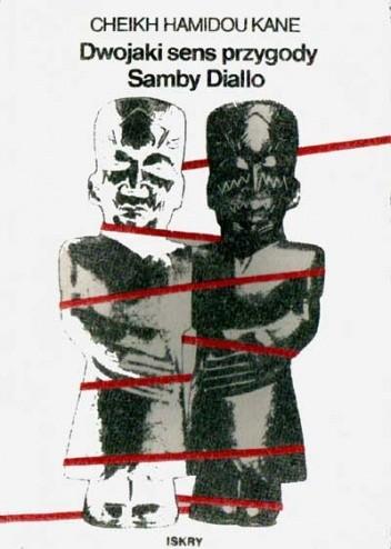 Okładka książki Dwojaki sens przygody Samby Diallo