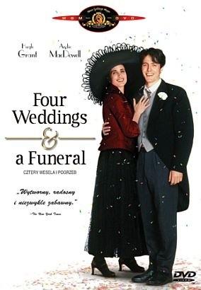Okładka książki Cztery wesela i pogrzeb