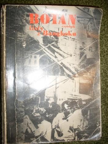 Okładka książki Botan listy z Bangkoku