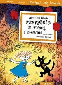 Okładka książki Przyjęcia z Tycią i Kotem