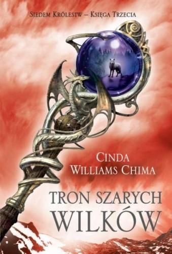 Okładka książki Tron Szarych Wilków