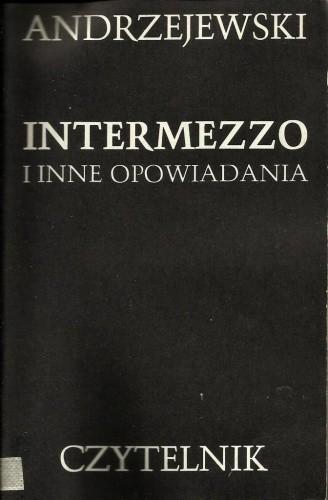Okładka książki Intermezzo i inne opowiadania