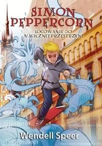 Okładka książki Simon Peppercorn. Logowanie do magicznej przestrzeni