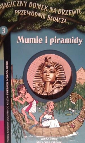 Okładka książki Mumie i piramidy
