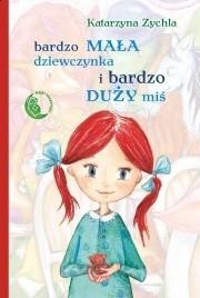 Okładka książki Bardzo mała dziewczynka i bardzo duży miś