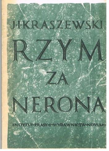 Okładka książki Rzym za Nerona