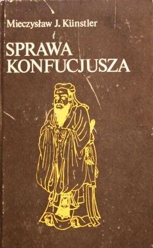 Okładka książki Sprawa Konfucjusza