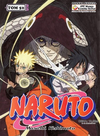 Okładka książki Naruto tom 52 - Oblicza drużyny siódmej