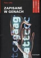 Okładka książki Zapisane w genach