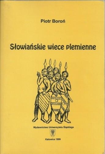 Okładka książki Słowiańskie wiece plemienne