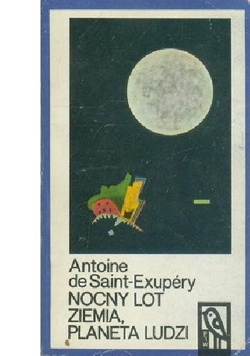 Okładka książki Nocny lot. Ziemia, planeta ludzi