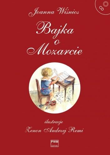 Okładka książki Bajka o Mozarcie