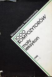 Okładka książki 1000 kompozytorów