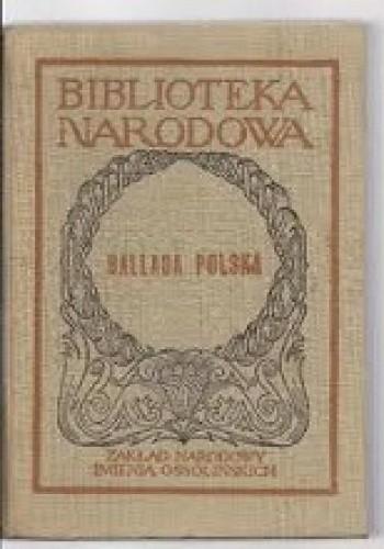 Okładka książki Ballada Polska