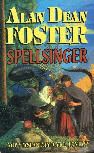Okładka książki Spellsinger