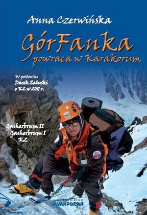 Okładka książki GórFanka powraca w Karakorum