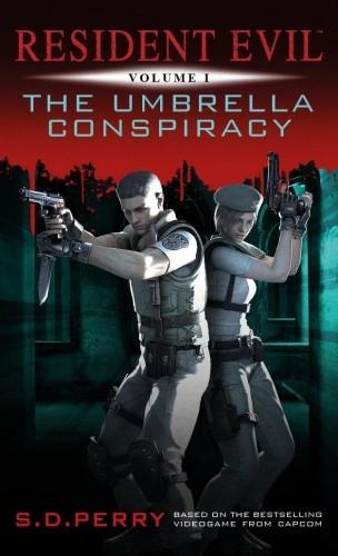 Okładka książki Resident Evil The Umbrella Conspiracy