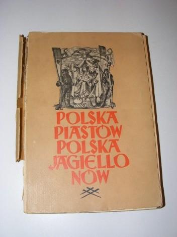 Okładka książki Polska Piastów Polska Jagiellonów