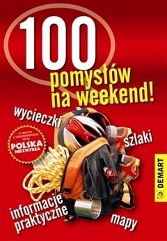 Okładka książki 100 pomysłów na weekend!