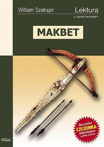 Okładka książki Makbet