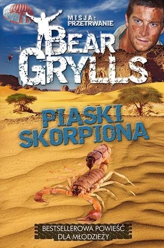 Okładka książki Piaski skorpiona